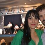 Safiya Aisha y Leandro, Al fondo Mario Kirlis y su Orquesta