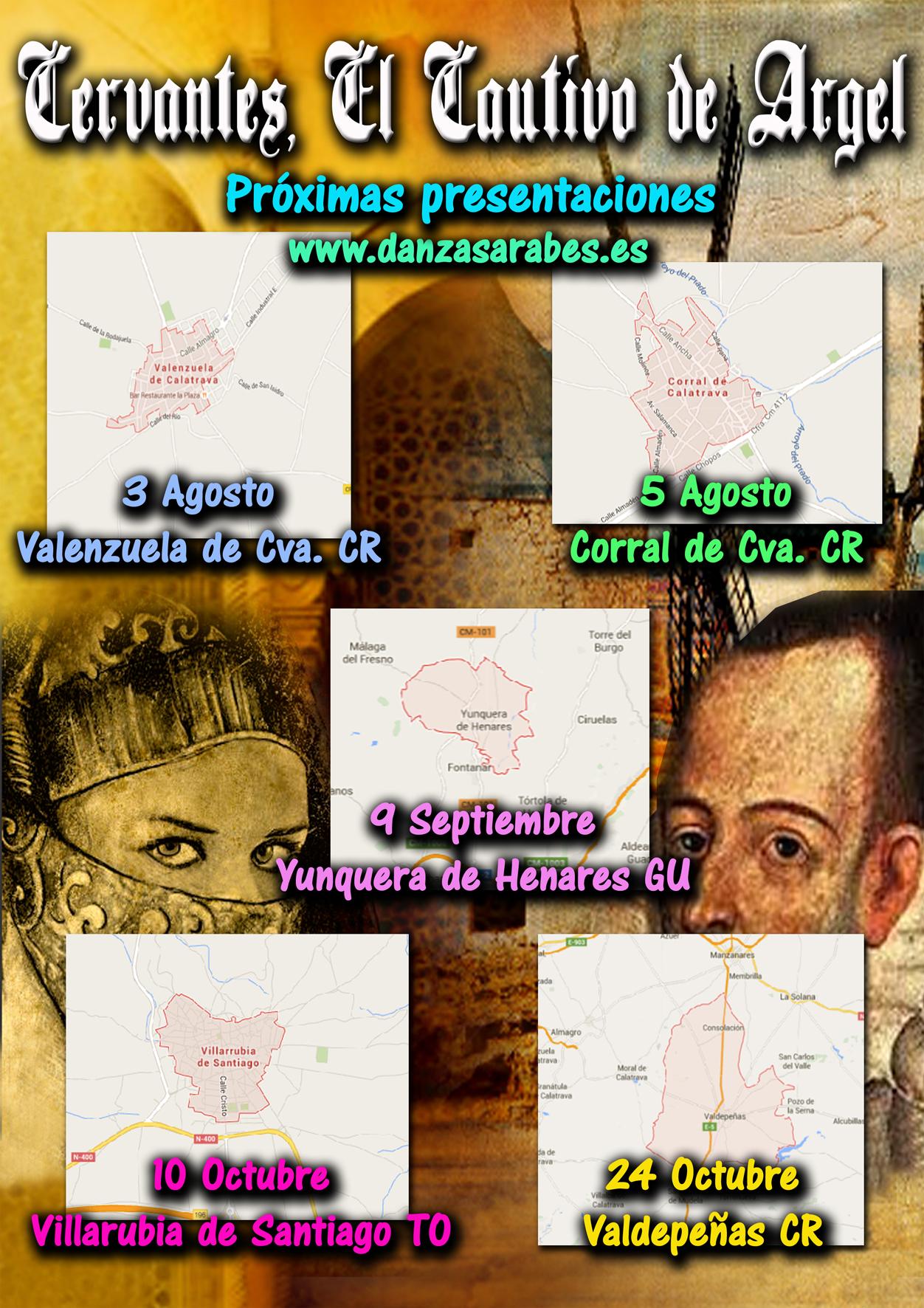"""""""Cervantes, el cautivo de Argel"""" Espectáculo"""